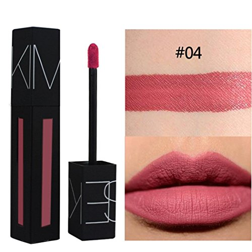 Clearance Color Lipsticks Waterproof lasting Crayon Sonnena Velvet Pencil Matte D Makeup Sexy Long Lipstick dRqUYW8rq