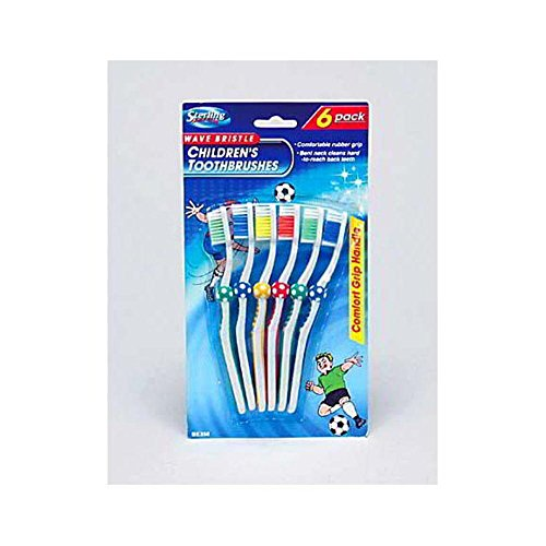 48 Childrens soccer toothbrushes by FindingKing