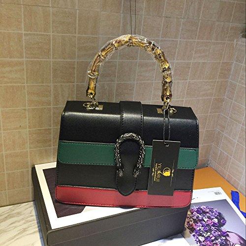 c25cf58efb YILINRUI Women messenger Bag Women Handbag Shoulder bag cross body bag Tote  Bags with Bamboo handle 2017 NEW: Amazon.in: Shoes & Handbags