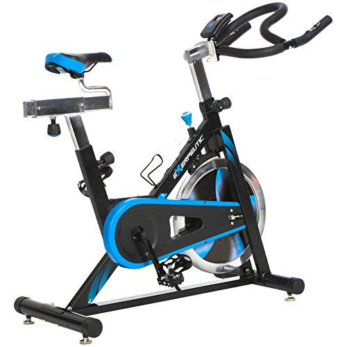 LX7 Indoor Cycling Exercise Bike with Computer and Heart Pulse Sensors - 2 year warranty Exerpeutic