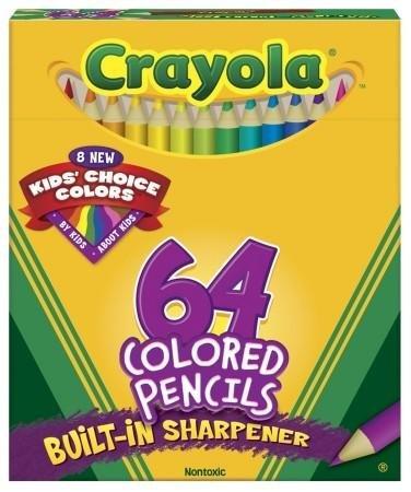 Crayola Coloring Pencils Color Choice