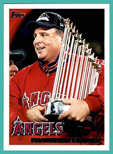 - 2010 Topps #356 Los Angeles Angels Manager Mike Scioscia TEAM WORLD SERIES CHAMPIONS