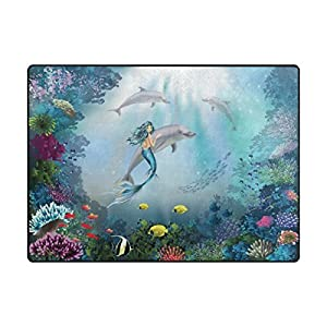 51hjLAQ%2BkOL._SS300_ 50+ Mermaid Themed Area Rugs