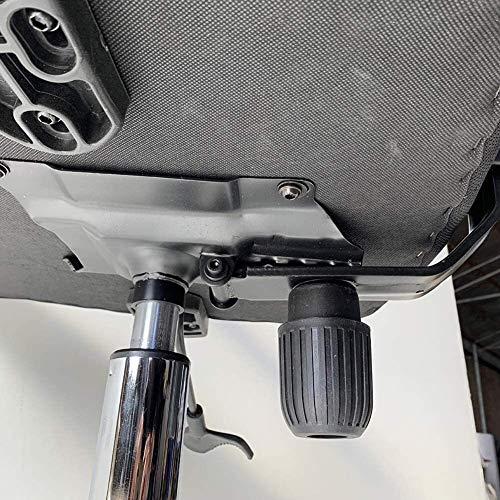 DBL spelstol, hög rygg kontorsstol, roterande enkel datorstol, ergonomiska skrivbordsstolar (färg: Stålfötter, storlek: Orange)