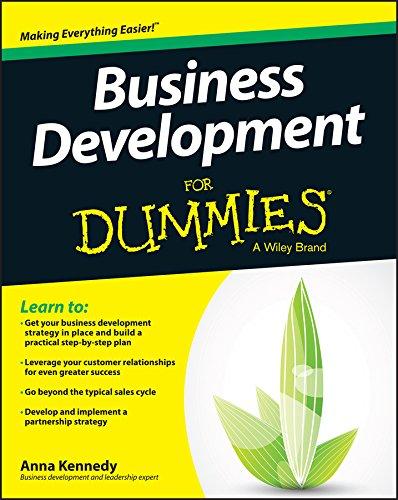 Business Development for Dummies (1st 2015) [Kennedy]