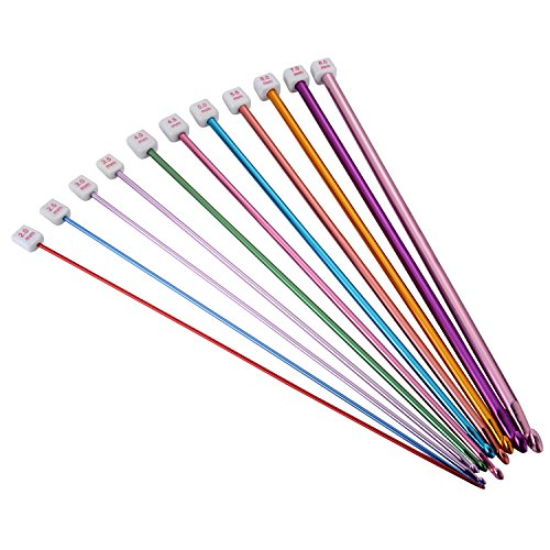 Outus Tunisian Aluminum Knitting Multicolor