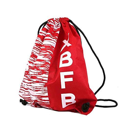Unisex À De Gym Cordonnet Trekking Fitness Premium Winjin Sac Sport Bundle Poche Partir Avec Dos Rouge Cordon Pocket Plage Faisceau Sacoche d0xUxA
