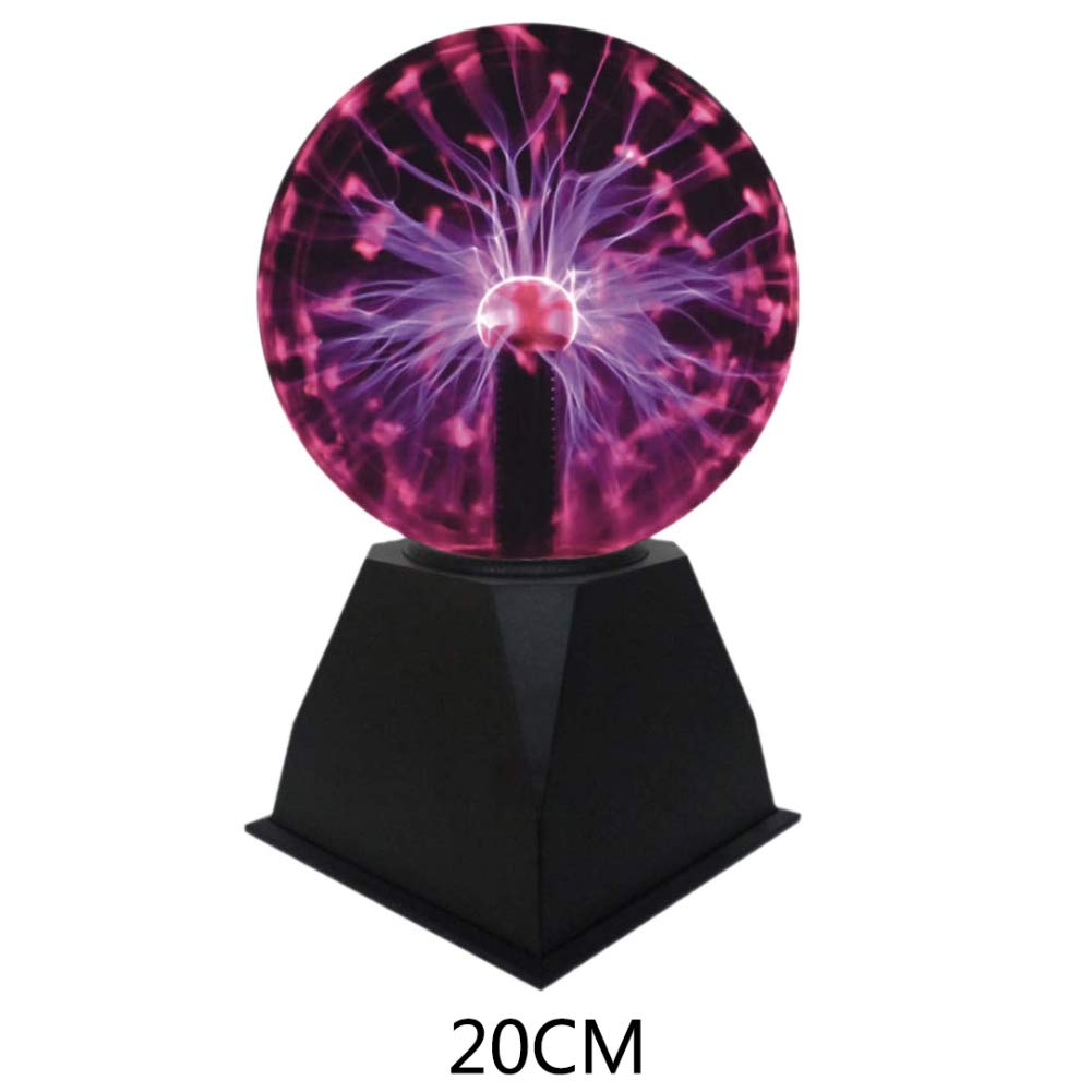 URMAGIC Ball Light US Plug Plasma Ball Light Personality Touching Lamp Vocie Control Indoor Spheres Perfect for Families,Parties,Cafes,Bars Restaurants by URMAGIC