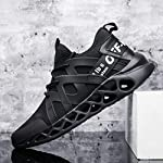Pozvnn Men's Sneakers Mesh Ultra Lightweight Breathable Athletic Running Walking Gym Shoes Fashion Personality Shoe Outdoor Sport