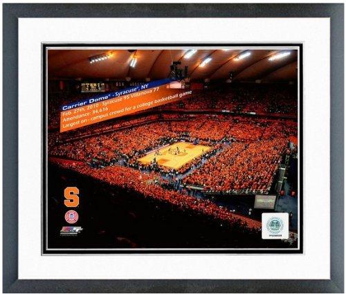 Syracuse Orangemen Art Glass (Carrier Dome Syracuse University Orangemen Photo 12.5