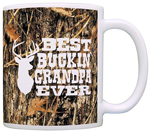 Grandpa Gifts Hunting Buckin Coffee