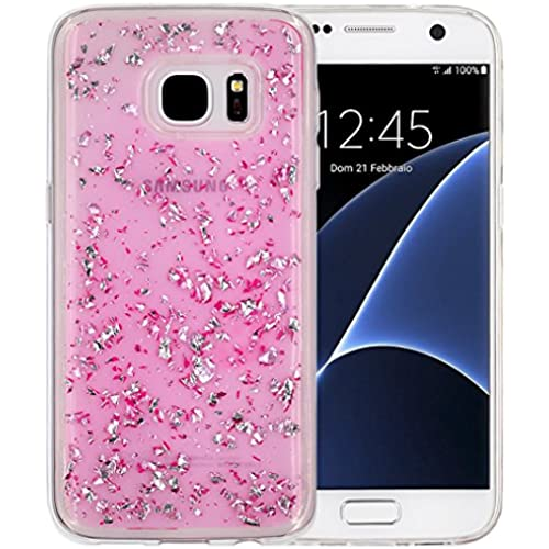 Galaxy S7 Case, A-Focus Luxury Bling Glitter Shiny Sparking [Shockproof,Drop Proof] Clear Transparent Soft Gel Sales