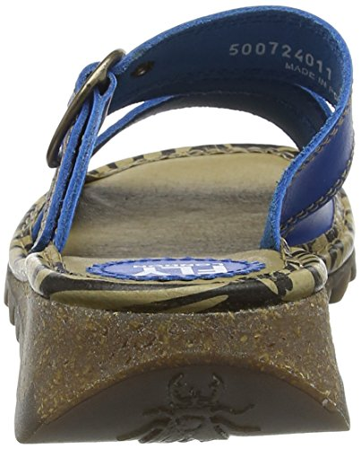 blu Toe elettrico Thea724fly donna London da Fly Sandali Open blu IA8BvB