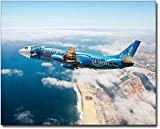 Alaska Airlines Disneyland Spirit of Make-A-Wish 16x20 Silver Halide Photo Print
