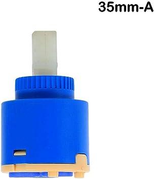 Cartucho de v/álvula de disco de cer/ámica para grifo monobloc de ba/ño o cocina SENRISE azul 1 unidad