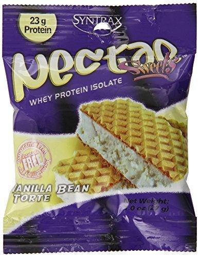 Syntrax Nectar Sweets Grab N Go, Vanilla Bean Torte, 12 Packets, 11 oz. by Syntrax