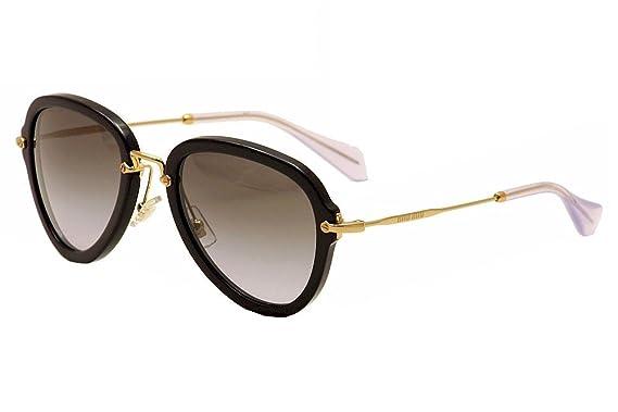 ef9a5c6dea6b Amazon.com  Miu Miu Women s 03QS Sunglasses