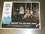 CHILDREN SHOULDN'T PLAY WITH DEAD THINGS/ORIG. U.S. 11X14 LOBBY CARD SET ()