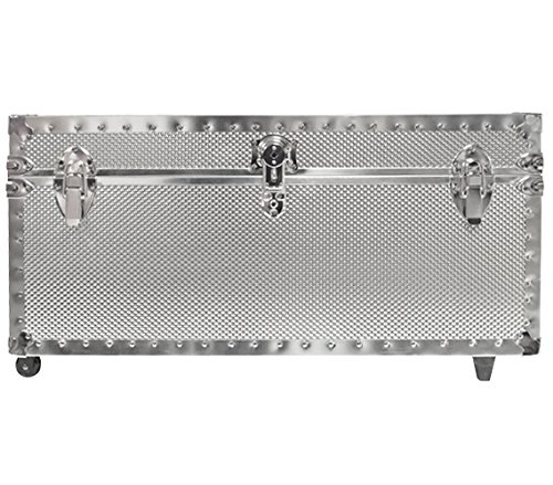 Embossed Steel Oversized Plus Trunk - USA Made by DormCo