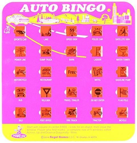 Regal Games The Original Travel Bingo Game Card