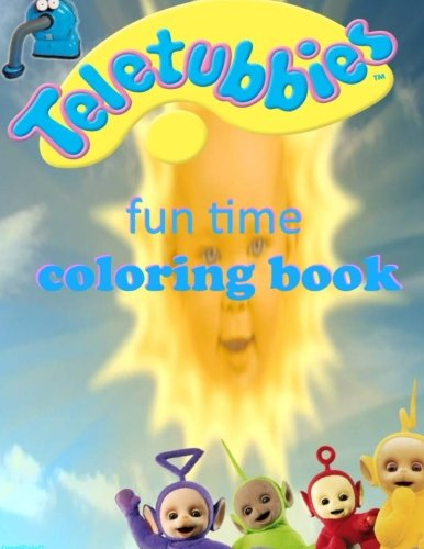 Teletubbies fun time coloring book