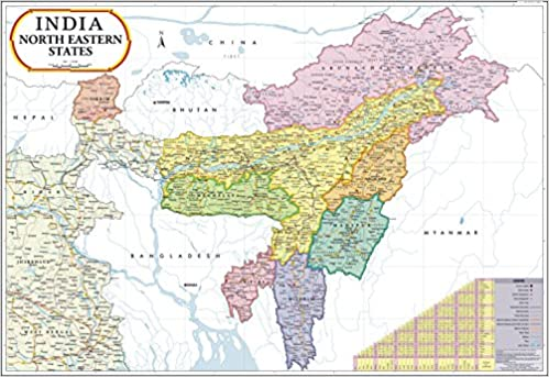 Buy North East India Map Book Online At Low Prices In India North
