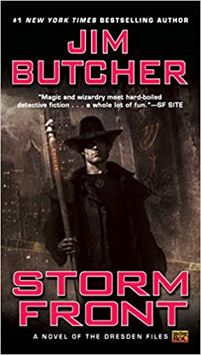 Jim Butcher - Storm Front Audiobook