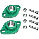 """Taco 110-252F Freedom Flanges for """"00"""" Series Circulators, Cast Iron"""