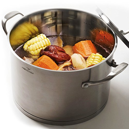 Top induction stock pot non stick for 2019