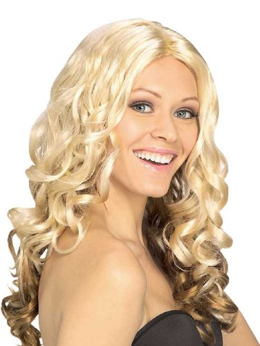Blonde Wig Goldilocks (51438/33 Goldilocks Blonde/Auburn Curly 2 Tone)