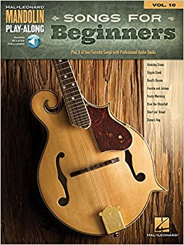 Book Mandolin Play Along Volume 10 Songs for Beginners Mand (Hal Leonard Mandolin Play-Along)