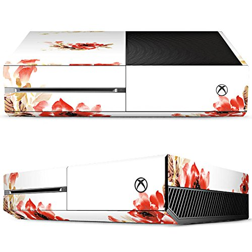 Price comparison product image Microsoft Xbox One Skin vinyl skin stickers protective film - Rose Watercolour