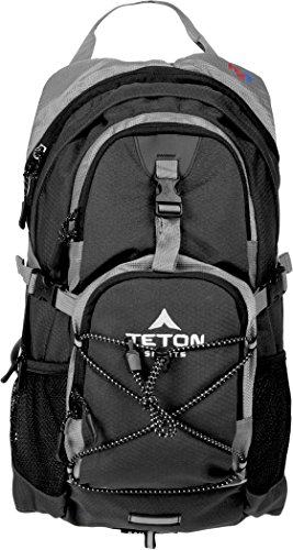 TETON 2-Liter Hydration Backpack made our list of camping safety tips for families who RV and tent camp