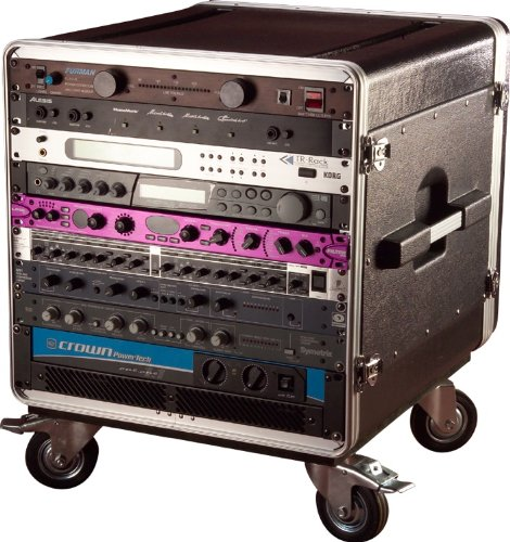 Gator 10U Rack Base with Casters for Console Audio Racks (GRC-BASE-10) by Gator