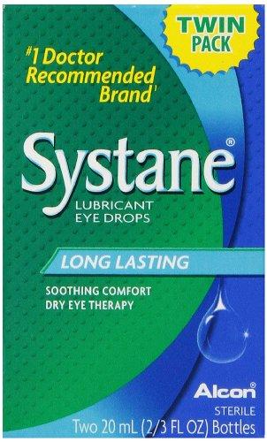 Gouttes oculaires lubrifiantes Systane, 2-comte, 2/3 fl. oz Bouteille