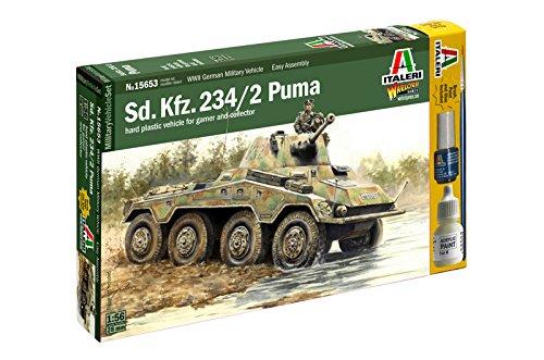 15653 1/56 Sd.Kfz. 234/2 Puma Italeri 510015653