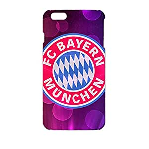 3D Dream Style Football Club Back Cover Case For Iphone 6 Plus Bayern Munchen Football Club Logo Print Design For Guys