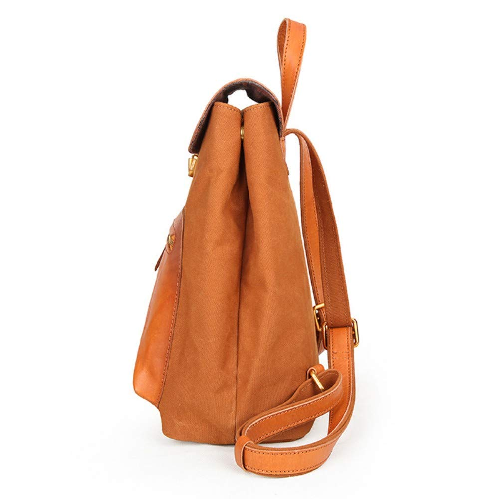 Zlk Backpack 27X14X32Cm WomenS Bag Casual Color Matching Ladies Backpack Small Backpack Bag