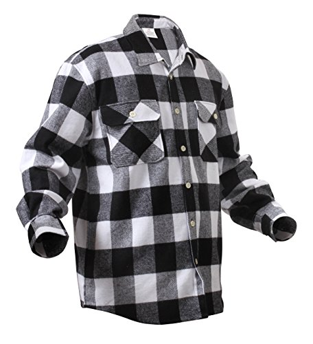 Black And White Flannel - 2