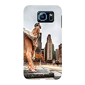 HomeSoGood The Beauty Of Chicago Multicolor 3D Mobile Case For Samsung S6 ( Back Cover)