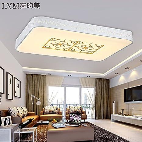 KANG@ LED lámpara de techo salón dormitorio estudio ...