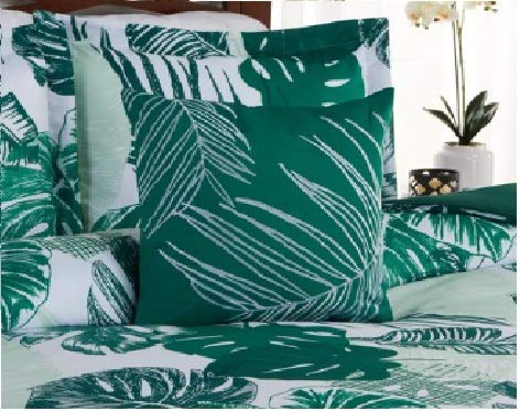 Super Soft,Fresh and Inviting Better Homes and Gardens Palm 5-Piece Comforter Set,Lush Palm Leaves in Shades of Emerald and Minty Green,Brings a Breath of Fresh Air to Any ()