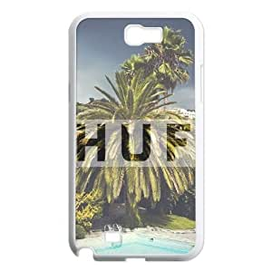 Hjqi - DIY HUF Cover Case, HUF Customized Case for Samsung Galaxy Note 2 N7100
