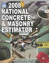 2008 National Concrete & Masonry Estimator