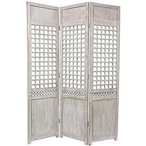 Tall Open Lattice Room Divider