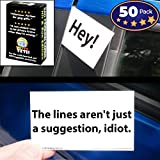 Witty Yeti Bad Parking Card 50 Note Pack. 10 Fun Designs for A Funny Gag Gift Or Prank