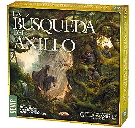 Devir búsqueda del Anillo (ed. en español), Multicolor (BGBUSA): Amazon.es: Juguetes y juegos