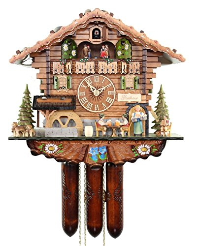 The Bavarian Guesthouse Cuckoo Clock by Adolf Herr 1