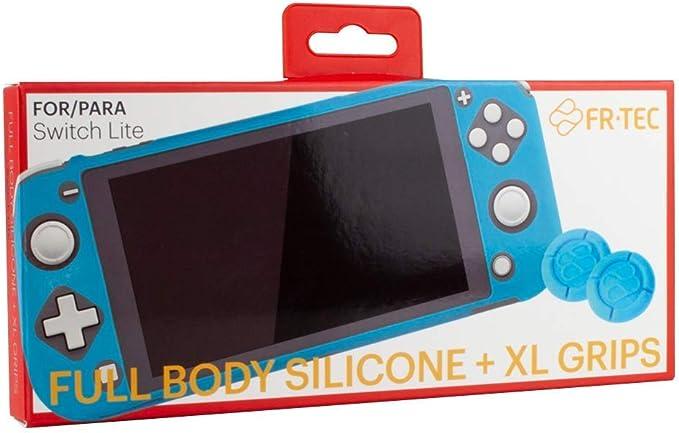 FR-TEC - Switch Lite Silicona protectora + Grips (Nintendo Switch ...