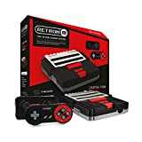 Hyperkin RetroN 2 SNES / NES Video Games Twin Console (Black)